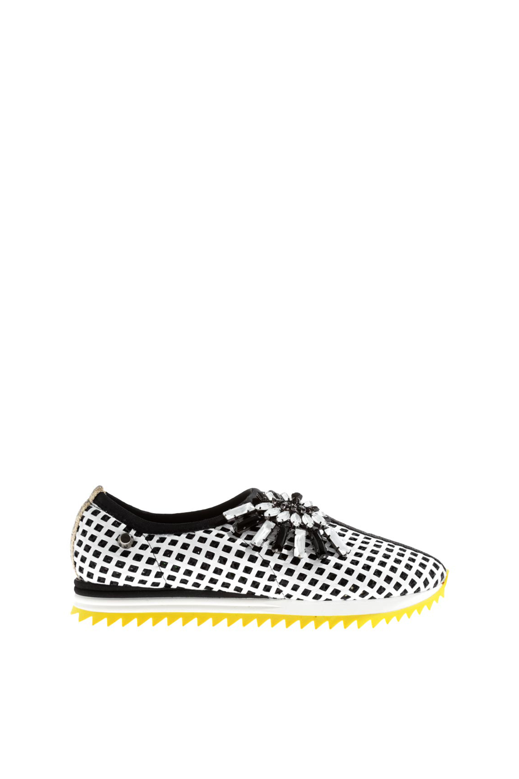 Judari: Clearence nappa white - fan | Shoes > Sneakers,Shoes -  Hiphunters Shop
