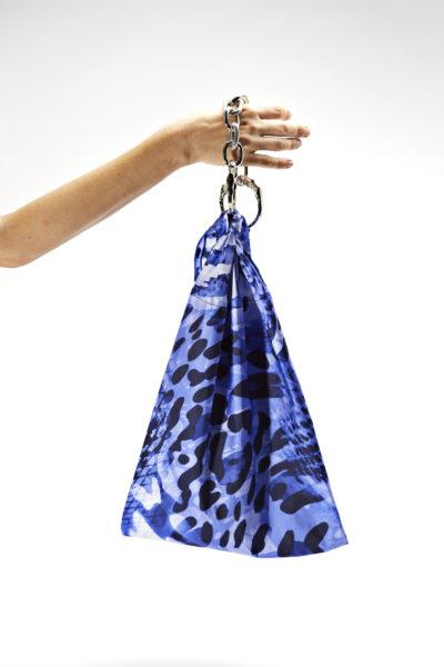 38-FOULARD LEO BLUE